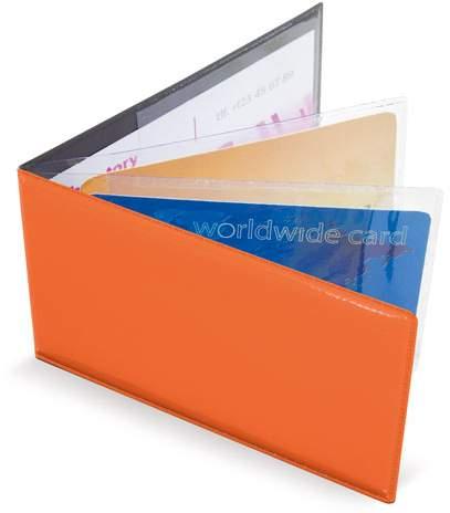 Horizontální pouzdro na 6 karet, oranžová