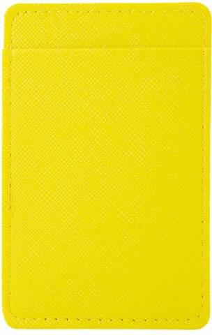 Pouzdro na karty, žlutá