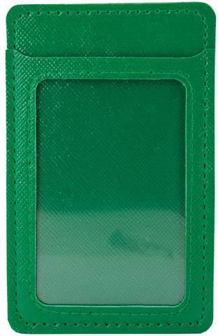 Pouzdro na karty, zelená