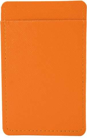 Pouzdro na karty, oranžová