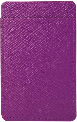 Pouzdro na karty, fialová