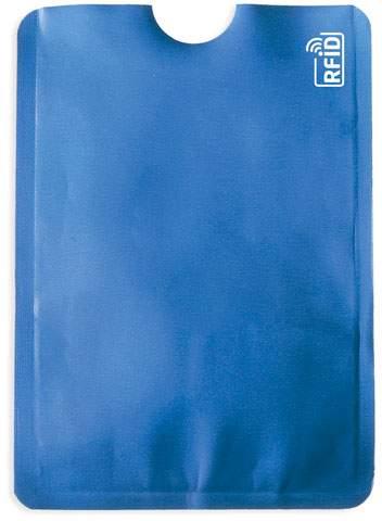 Pouzdro na karty s ochranou RFID, modrá