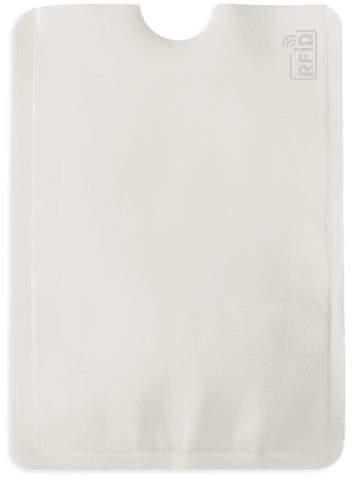 Pouzdro na karty s ochranou RFID, bílá
