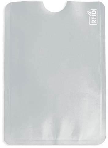 Pouzdro na karty s ochranou RFID, stříbrná