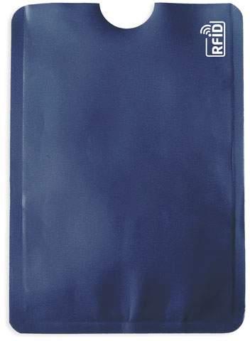 Pouzdro na karty s ochranou RFID, námořnická modrá