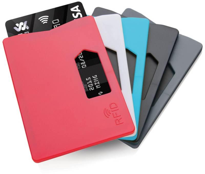 Pouzdro na kartu s RFID ochranou