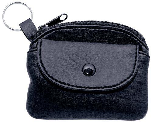Klíčenka s peněženkou černá