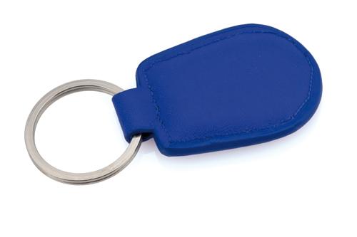 Pelcu modrá klíčenka