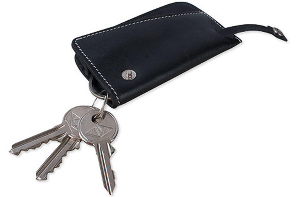 Kožená kapsa na klíče