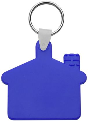 Cottage modrý přívěsek na klíče