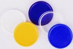 Transparentní žlutý žeton 5 nebo 10