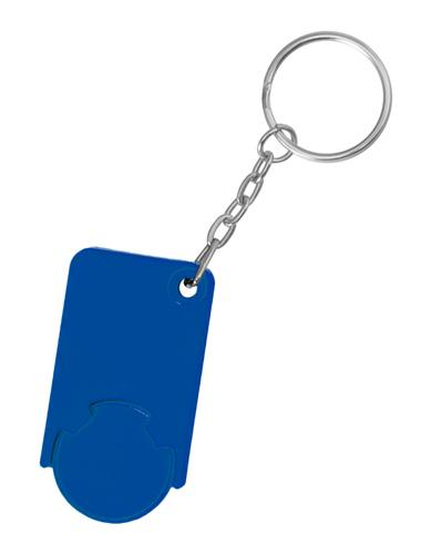 Beka modrá klíčenka na mince
