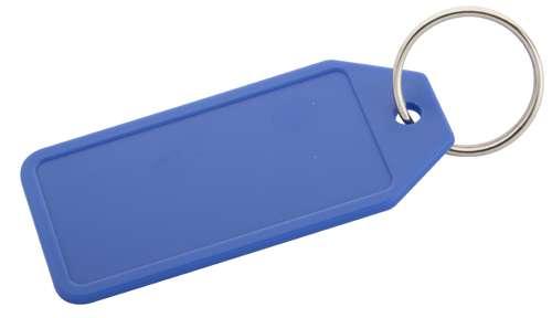 Plopp modrý přívěsek na klíče