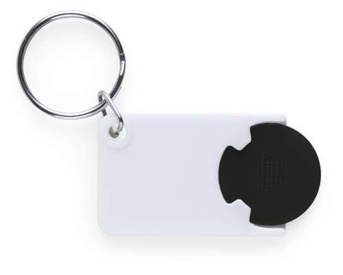 Zabax přívěsek na klíče s černým žetonem