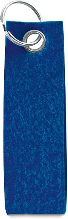 přívěšek na klíče modrý
