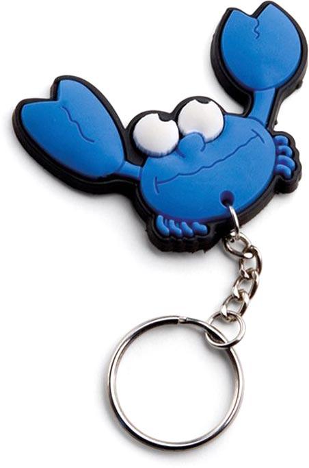 Přívěšek na klíče krab
