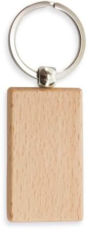 Dřevěná klíčenka - obdélník
