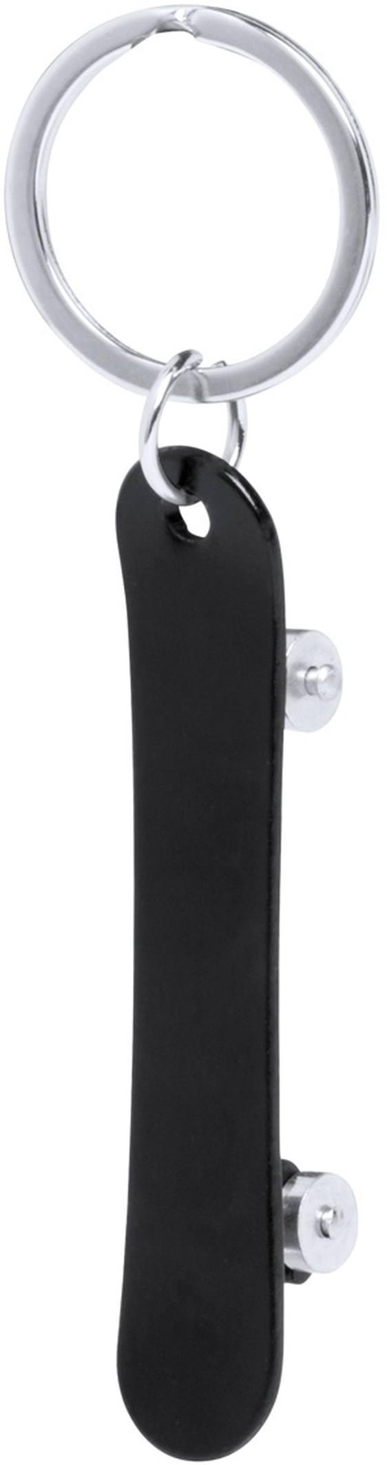 Skater přívěšek na klíče s otvírákem