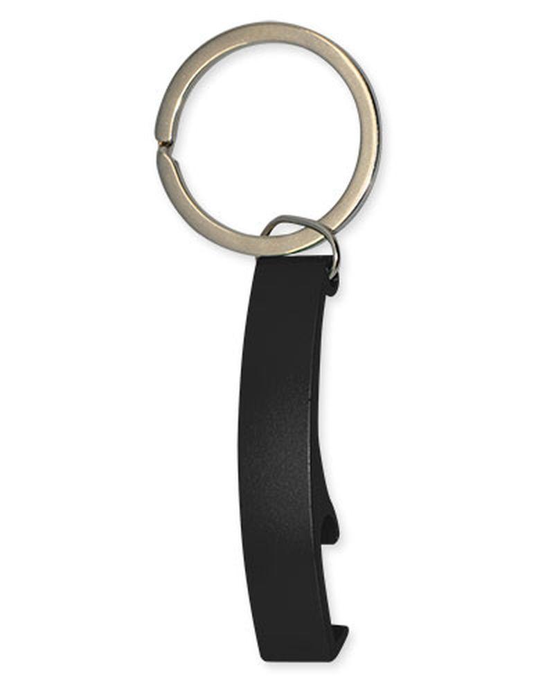 Přívěšek na klíče-otvírák černý