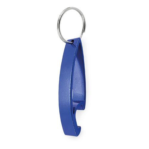 Klíčenka s otvírákem modrá