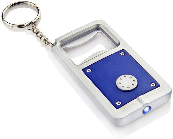 LED klíčenka HELIO modrá