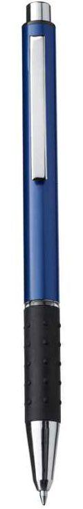 Modré kuličkové pero z aluminia