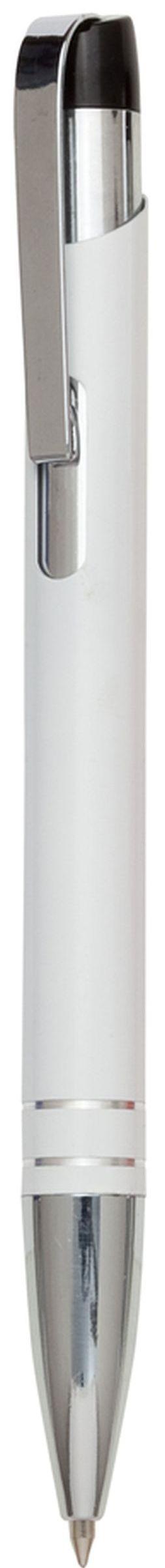 Fokus bílé kuličkové pero