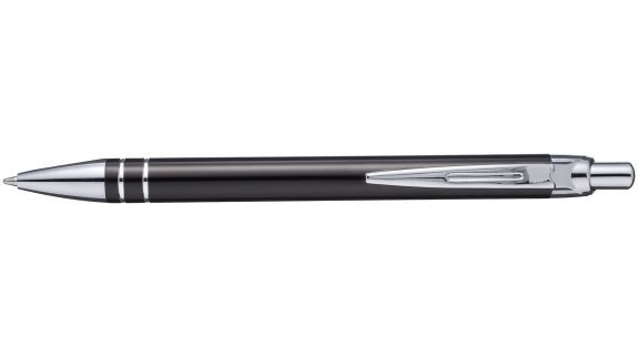 Černé kuličkové pero Madrid