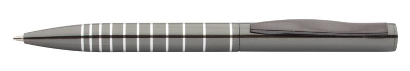 Kuličkové pero šedé barvy