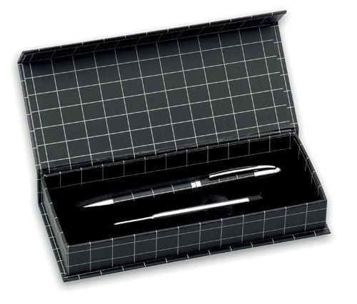 Bílé kuličkové pero