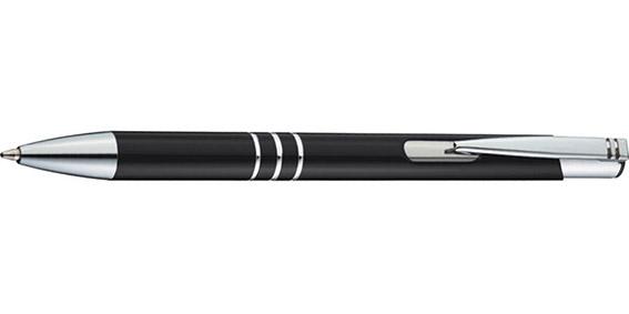 Černé kuličkové pero Ascot