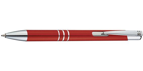 Červené kuličkové pero Ascot