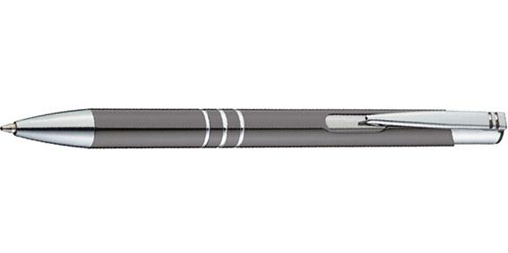 Šedé kuličkové pero Ascot