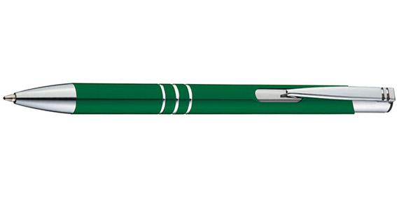 Zelené kuličkové pero Ascot