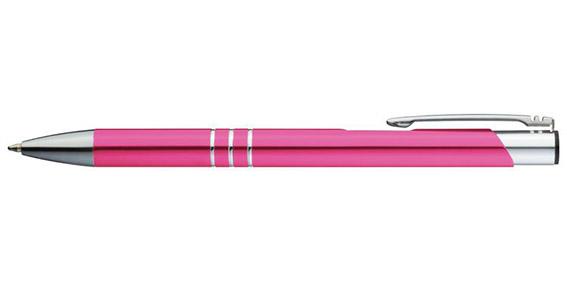 Růžové kuličkové pero Ascot