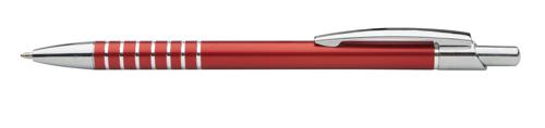Vesta červené kuličkové pero