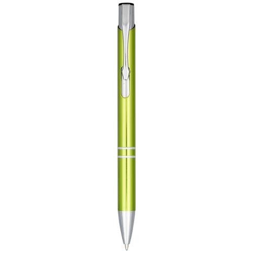 Kuličkové pero s mechanismem přítlačného typu