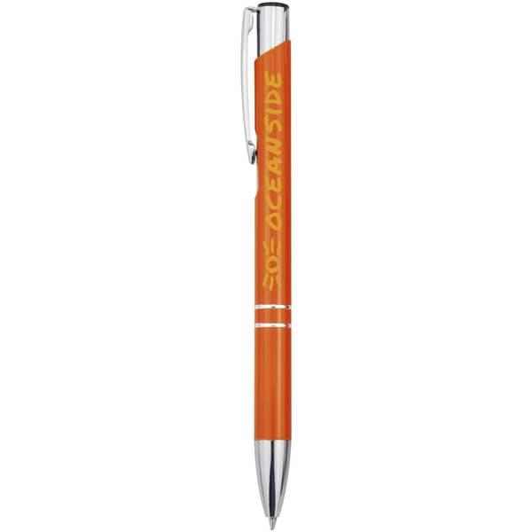 Moneta hliníkové stiskací kuličkové pero