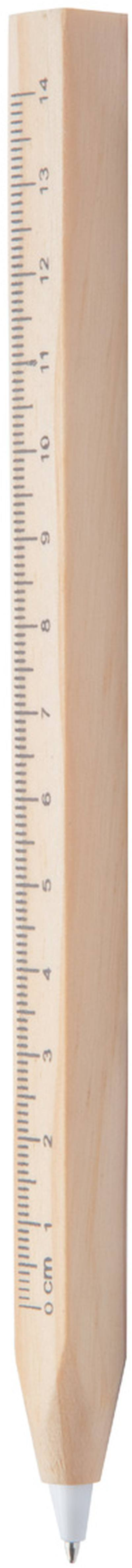 Burnham kuličkové pero s pravítkem