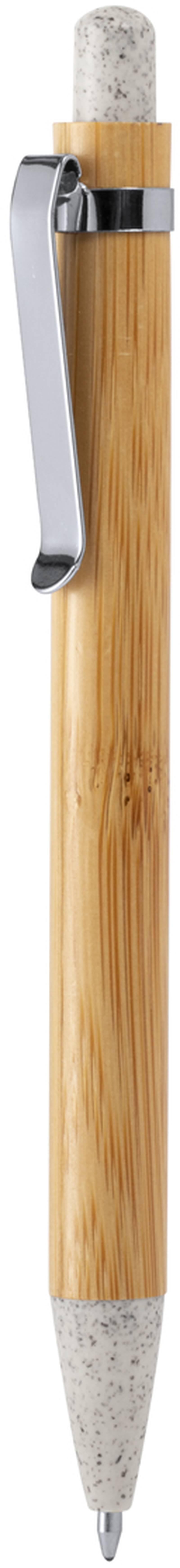 Bambusové kuličkové pero Trepol