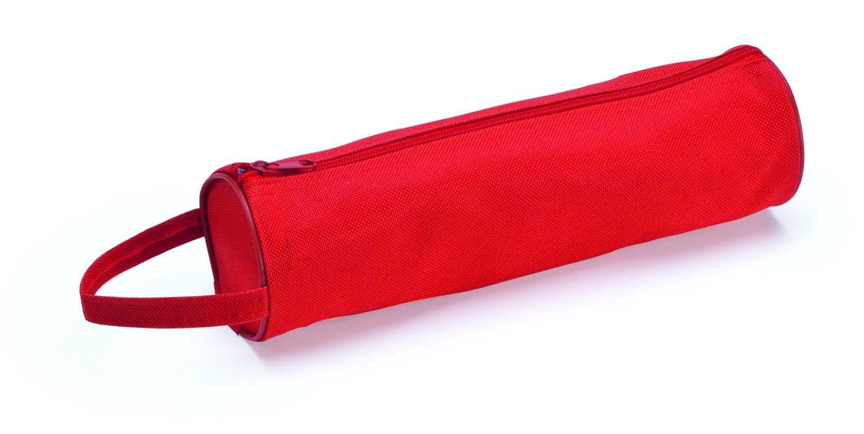 Celes červené pouzdro na tužky