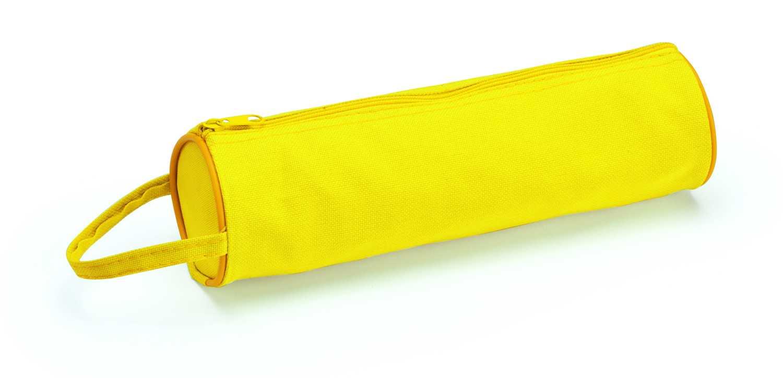 Celes žluté pouzdro na tužky