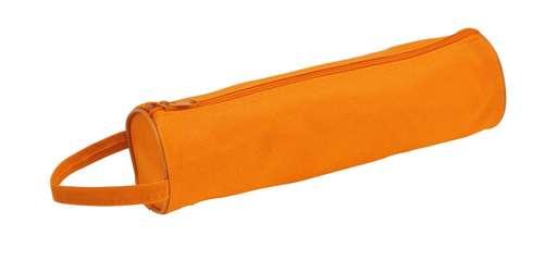 Celes oranžové pouzdro na tužky s potiskem