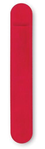 Pouzdro na pero červené s potiskem