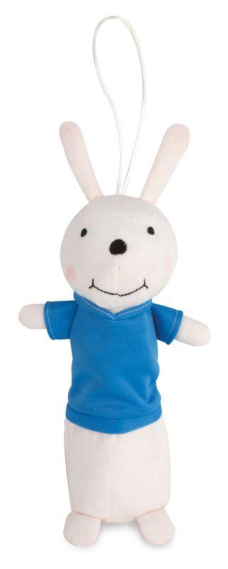 Pouzdro na tužky - králíček světle modrá