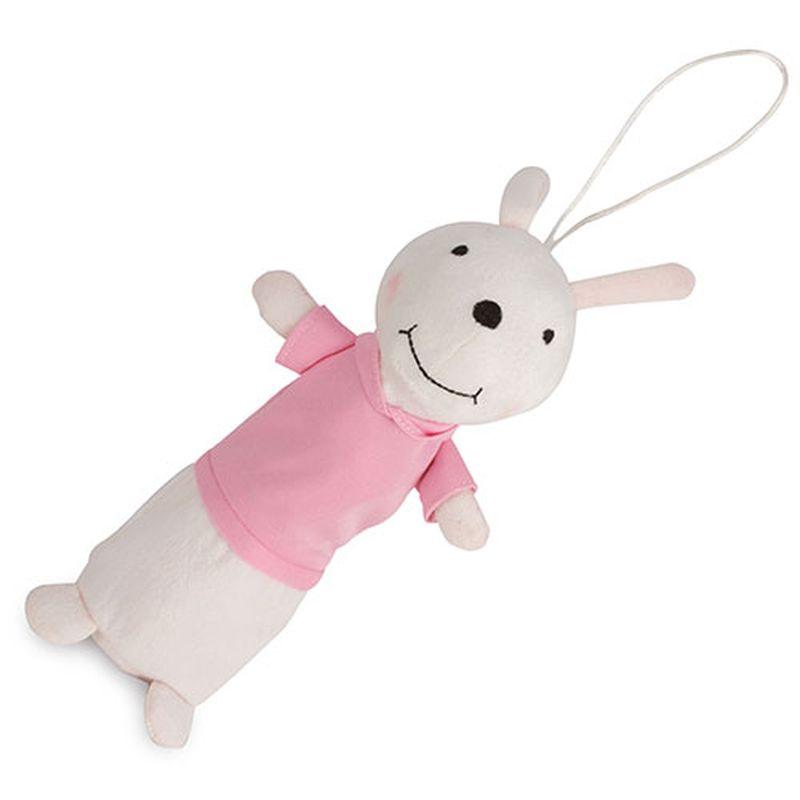 Pouzdro na tužky - králíček růžová