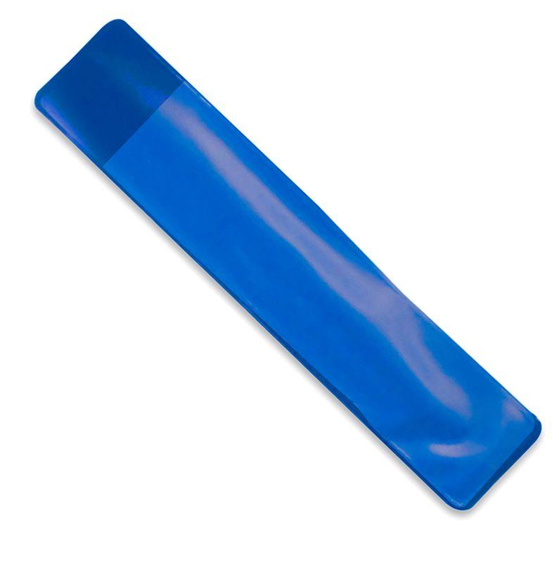 PVC obal na pero modrý