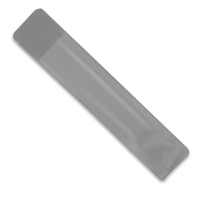 PVC obal na pero šedý