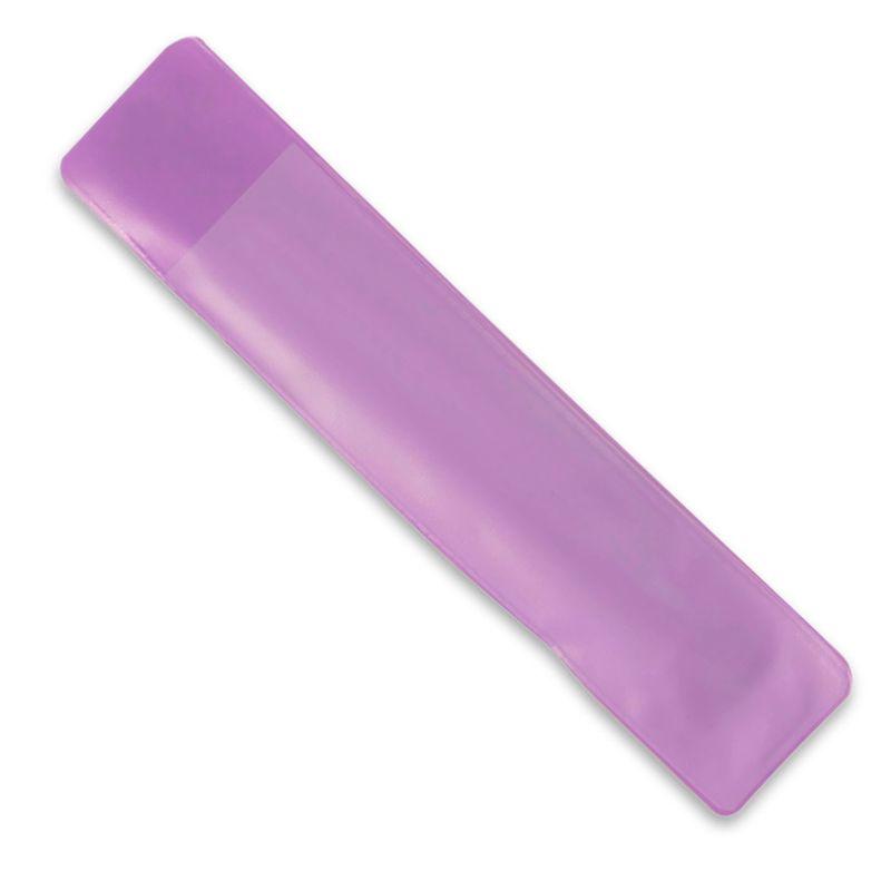 PVC obal na pero fialový