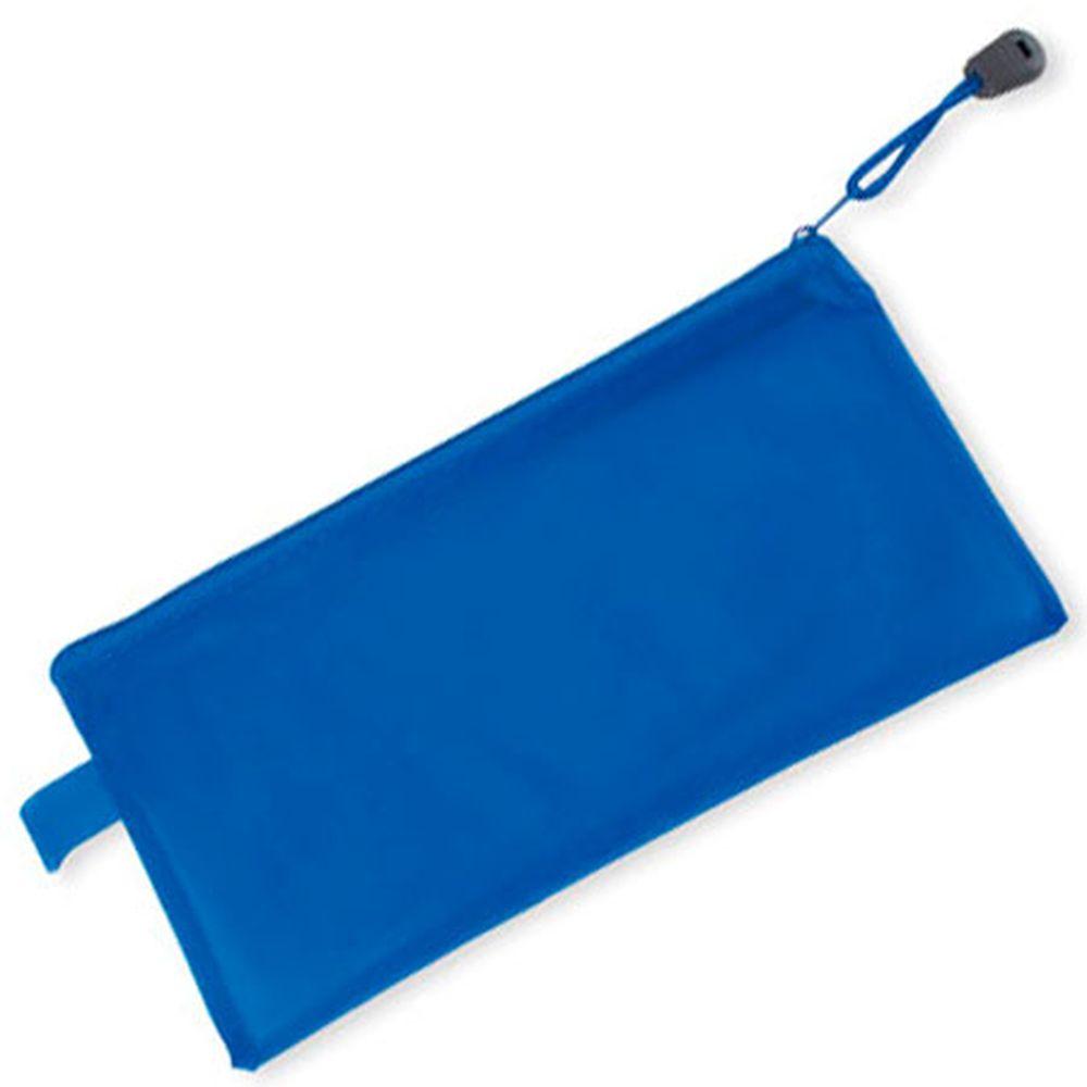 Pouzdro na tužky  - průhledné, modré
